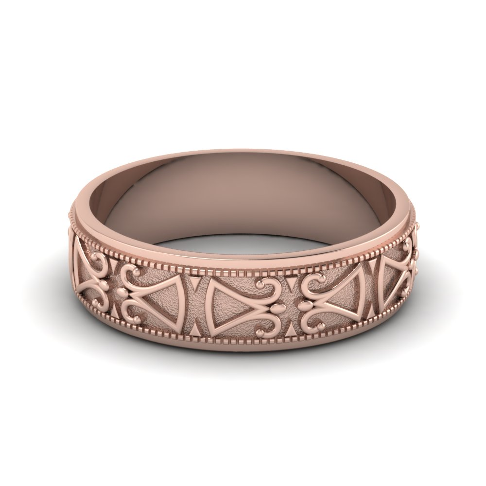 rose-gold-artistic-design-mens-wedding-band-FDHM339B-NL-RG