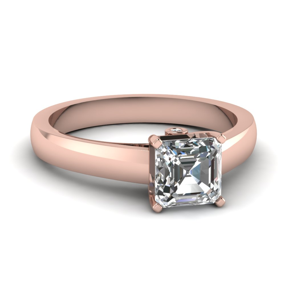 Shop For Classy Bezel Set Engagement Rings Fascinating Diamonds