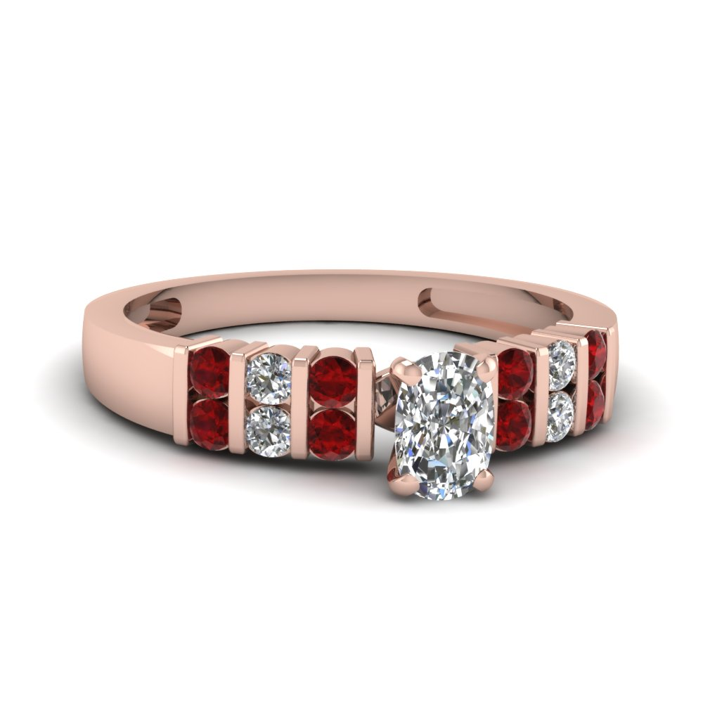 Unique Ruby Engagement Ring For Her