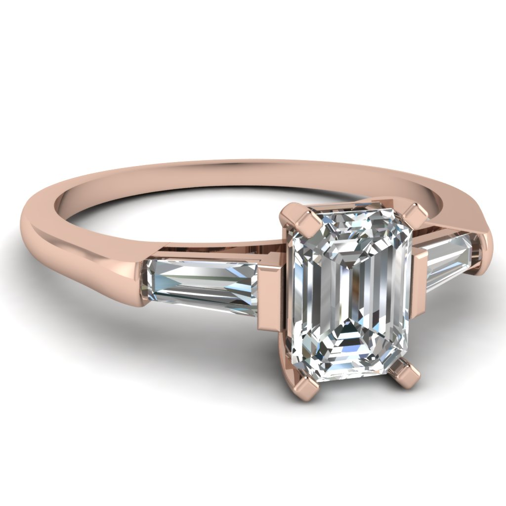 Top 20 Emerald Cut Diamond Rings Style