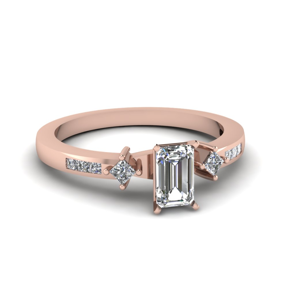 Twin Kite Diamond Petite Ring
