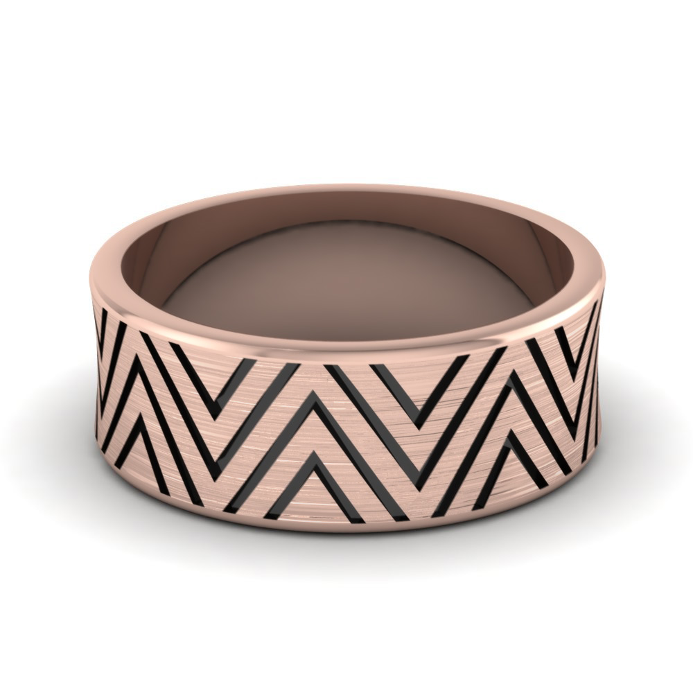 rose-gold-fancy-arrow-design-mens-wedding-band-FDM846B-NL-RG