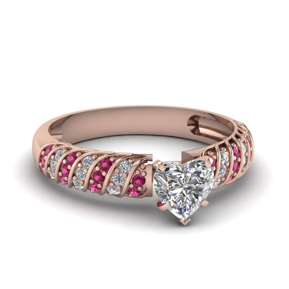 engagement when to steps rings pink heart follow buying diamond shaped