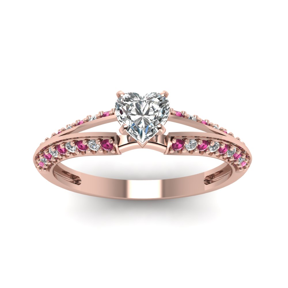 rings with pink md calleija a diamond white beautiful shaped heart collection