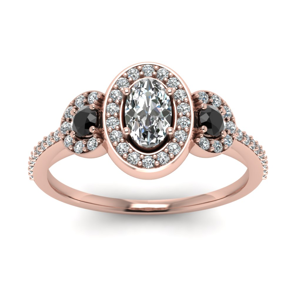 o engagement edit gold oval wedding in double rings rose sarah ring halo exclusive burst jewelry diamond at