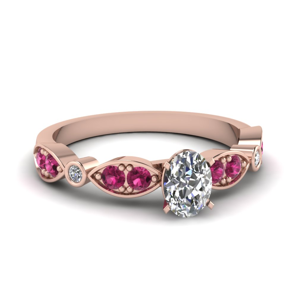 Shop For Exclusive Side Stone Engagement Rings Online