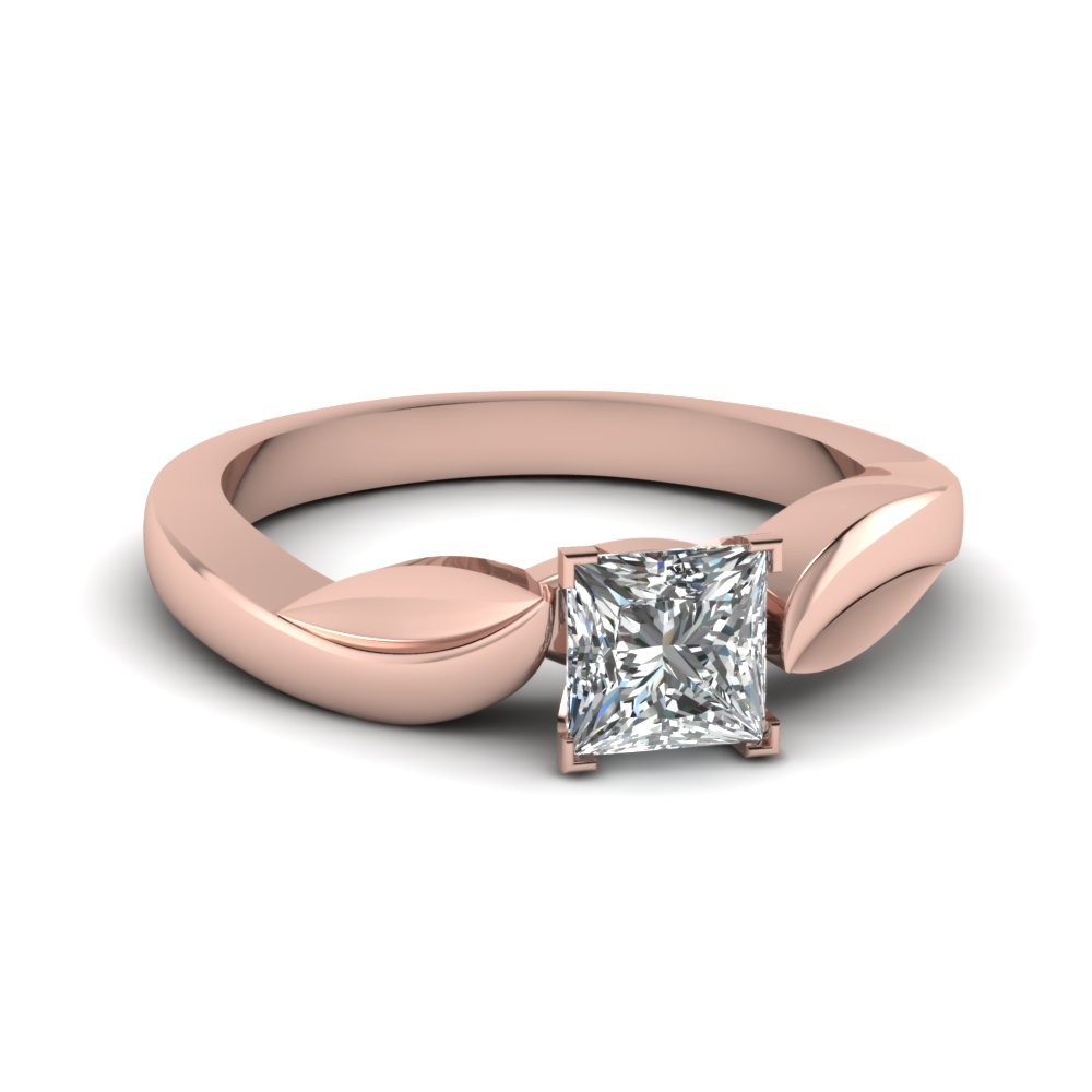 Women Ring 1/2 Ct. Princess Cut Diamond