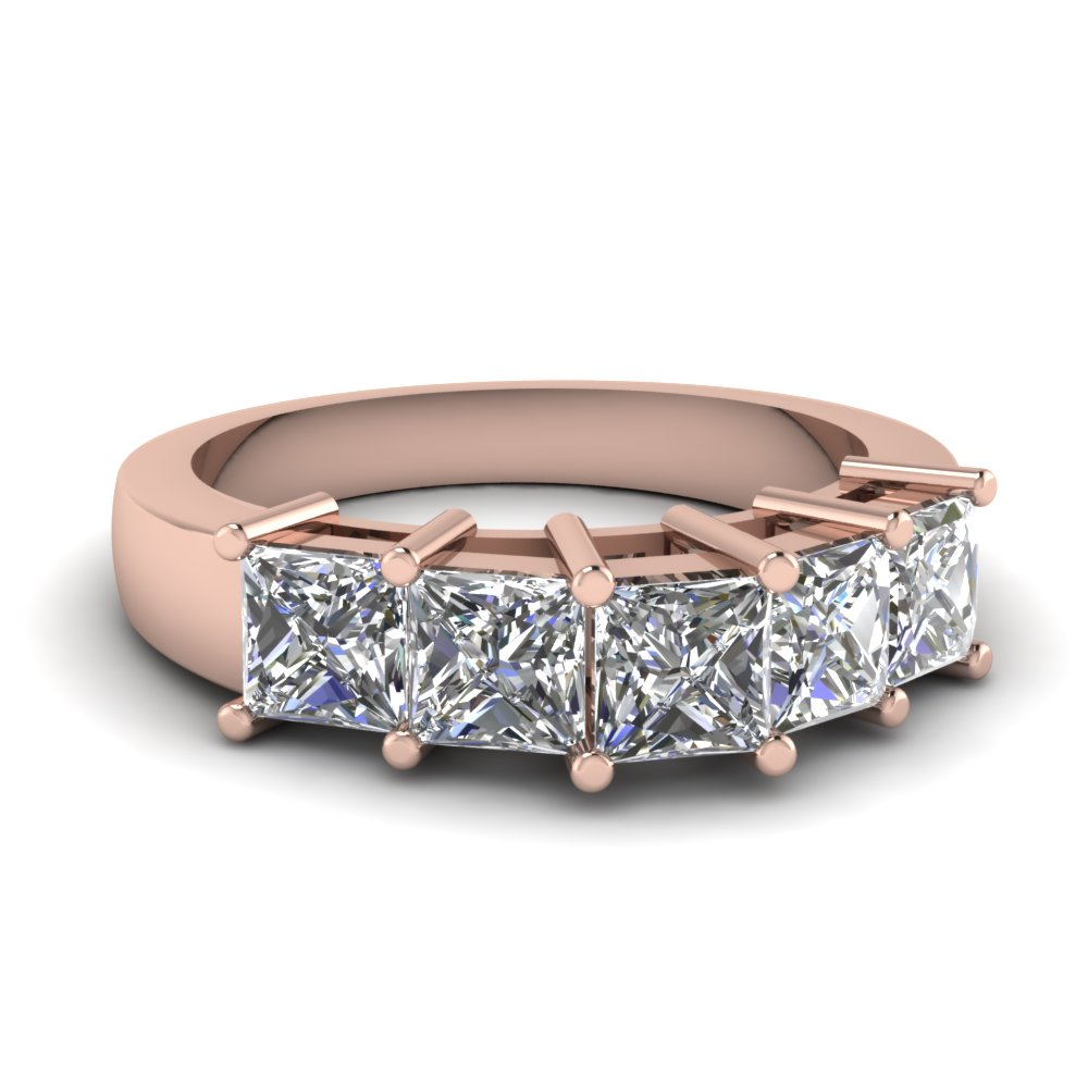 1 Carat Womens Wedding Band