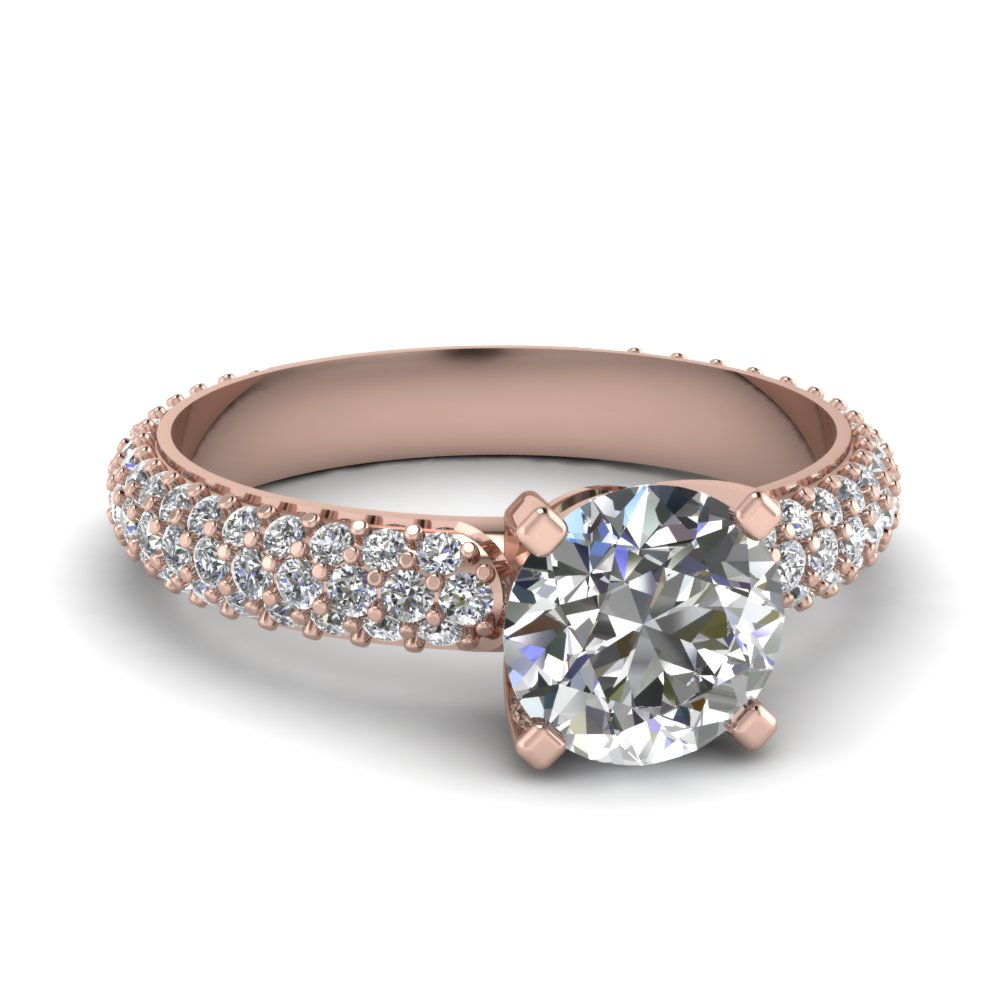 Top 20 Round Engagement Rings