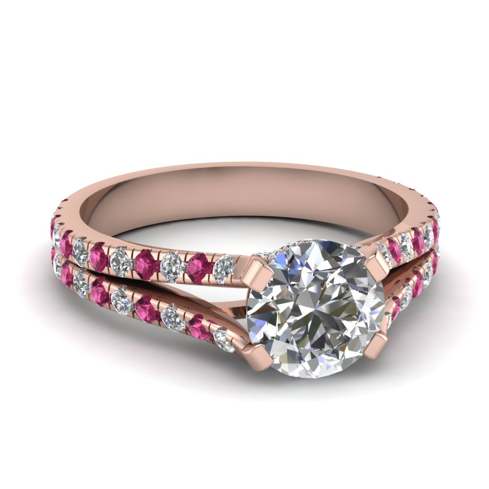 rose-gold-round-white-diamond-engagement-wedding-ring-with-dark-pink-sapphire-in-prong-set-FD68896RORGSADRPI-NL-RG