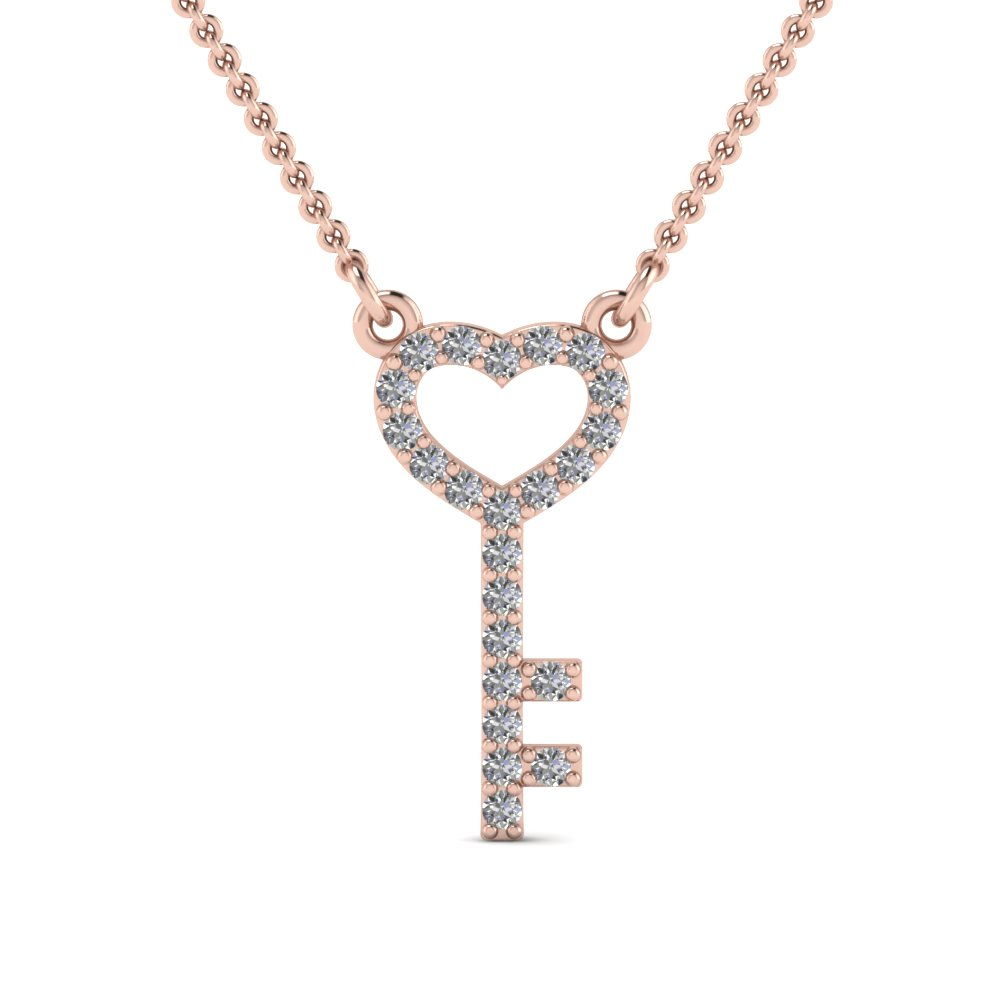 rose-gold-round-white-diamond-key-heart-heart-pendant-in-pave-set-FDPD67071-NL-RG