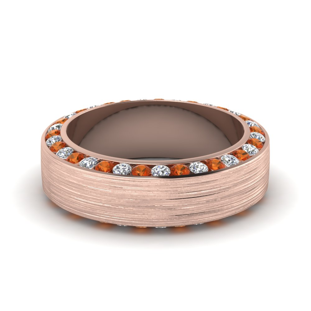 rose-gold-round-white-diamond-mens-wedding-band-with-orange-sapphire-in-channel-set-FDDB1040BGSAOR-NL-RG