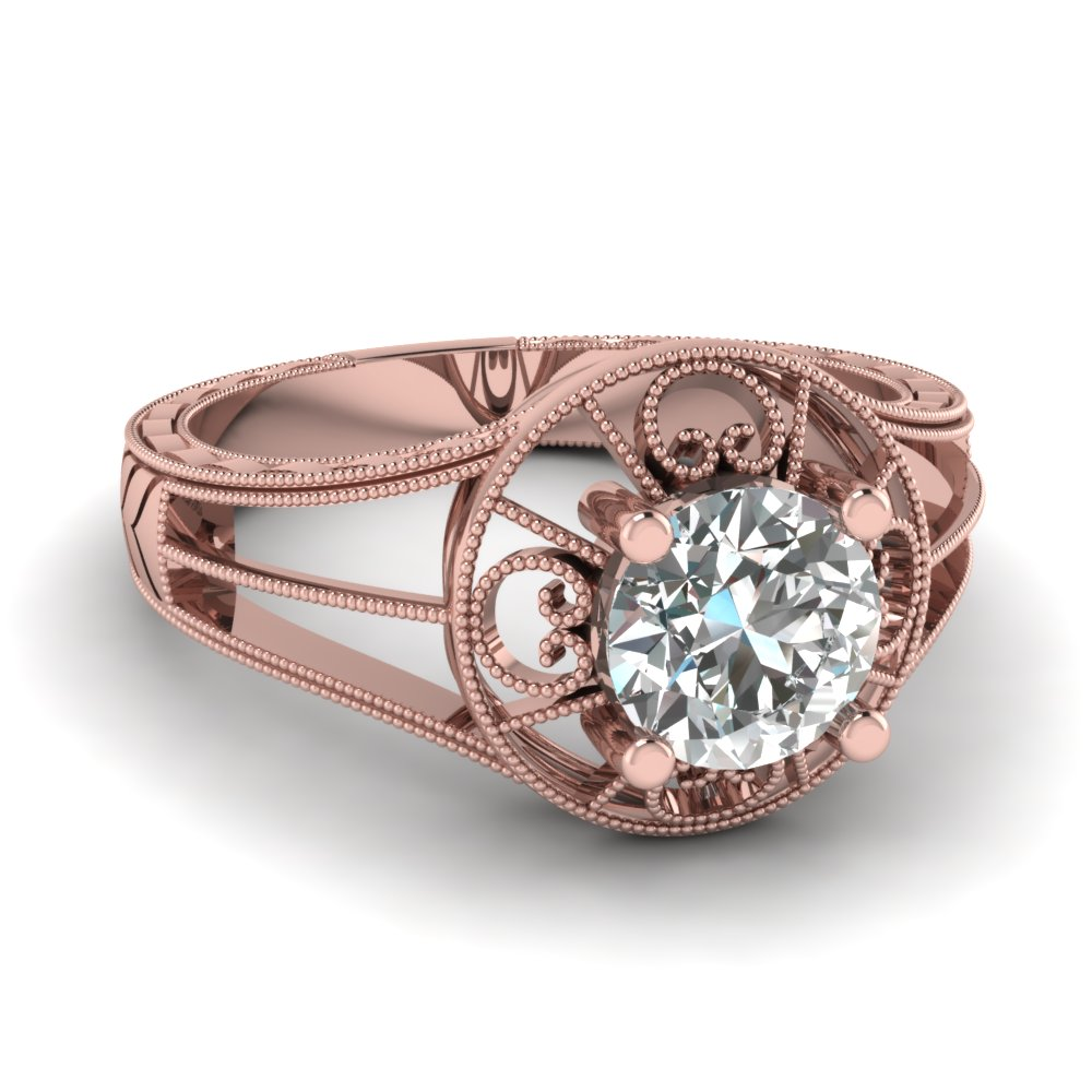 Filigree Wedding Rings