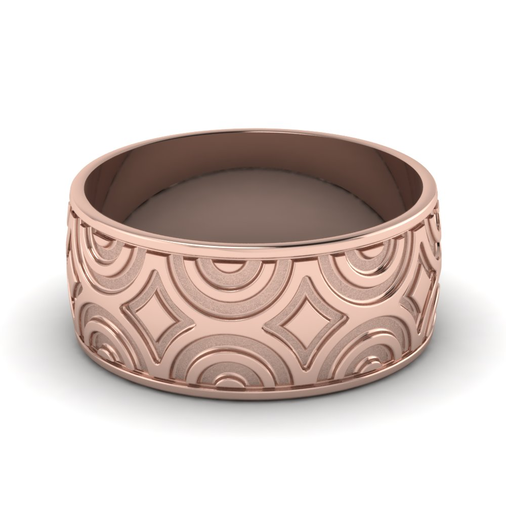 rose-gold-ultra-fancy-design-mens-wedding-band-FDM474B-NL-RG