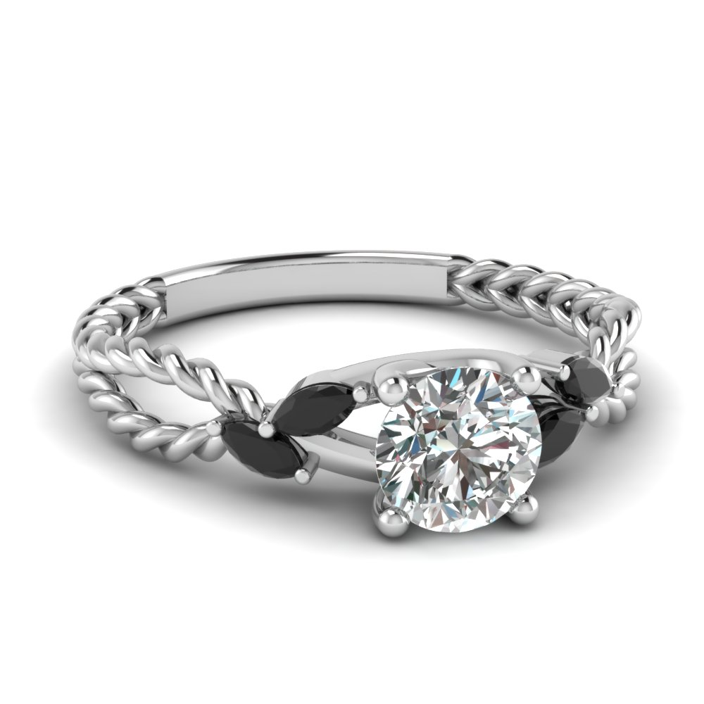 Black Diamond Engagement Rings Fascinating Diamonds