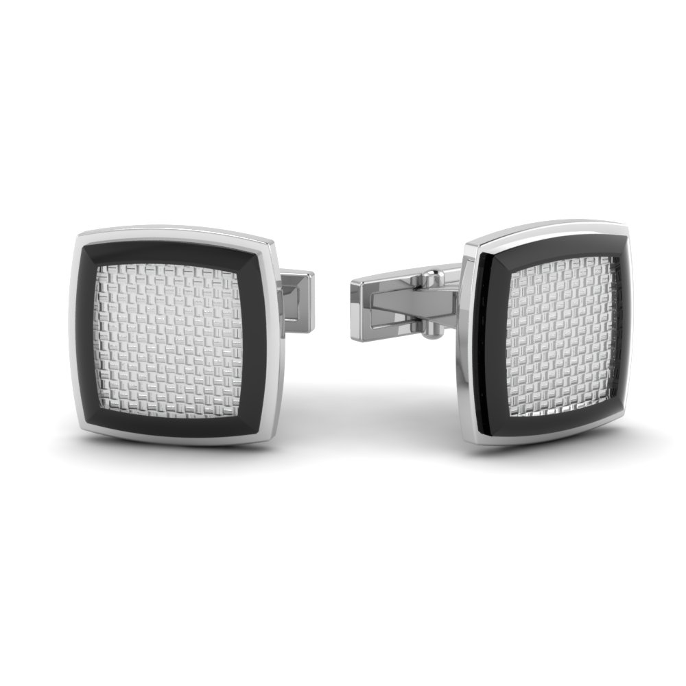 stainless-steel-diamond-grid-cufflinks-FDL833-NL-WG