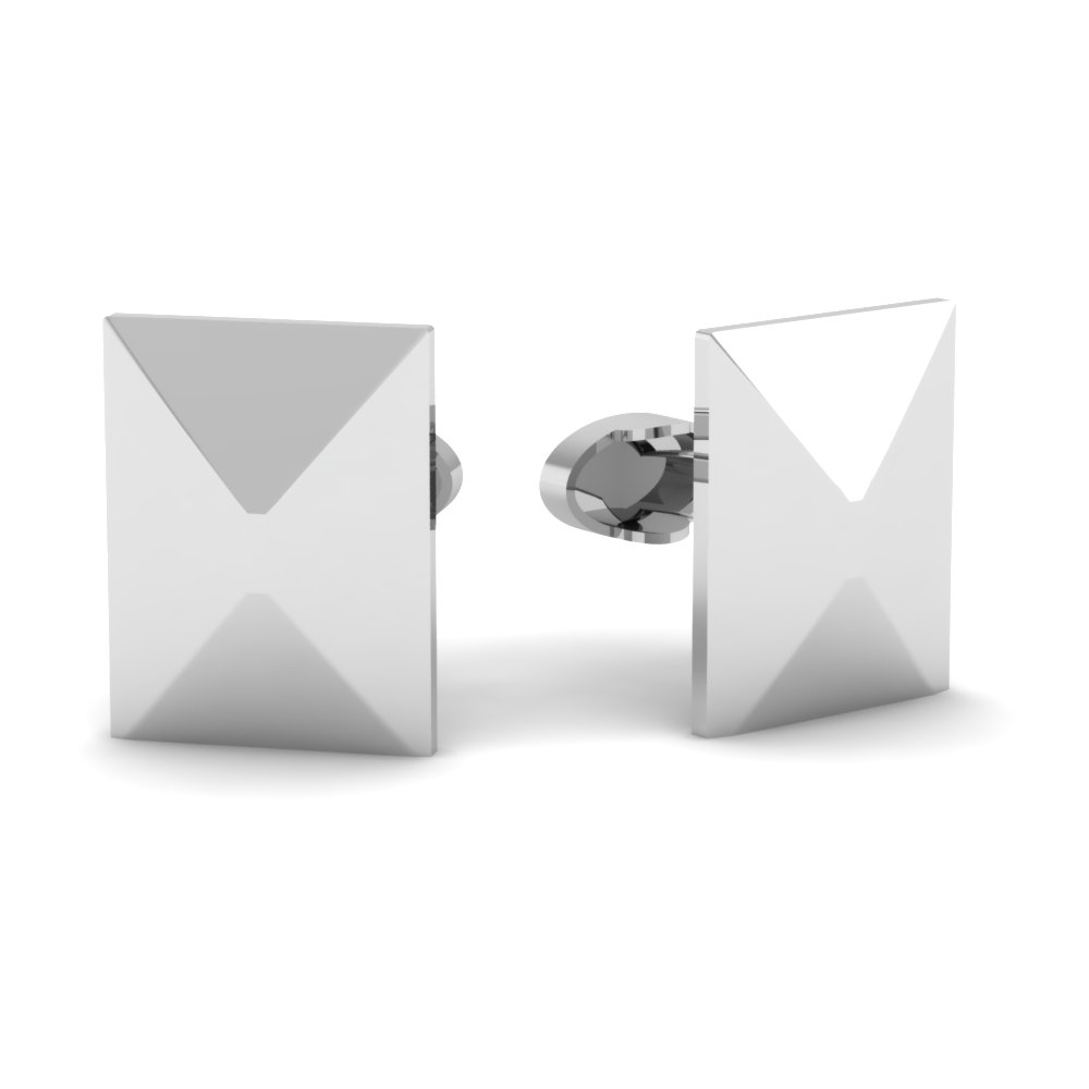 stainless-steel-pyramid-cufflinks-FDL901-NL-WG