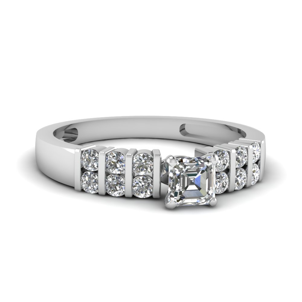 Affordable White Gold Engagement Ring