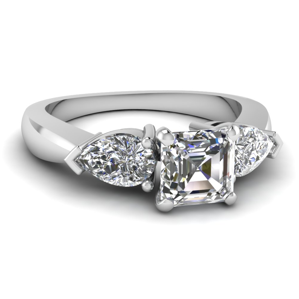 pear shaped diamond engagement ring - Popular Wedding Rings