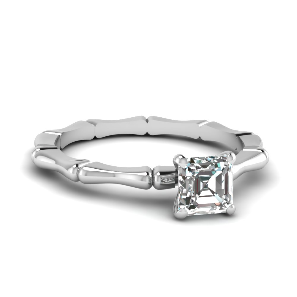 bone design asscher diamond solitaire engagement ring in FDENS1823ASR NL WG.jpg