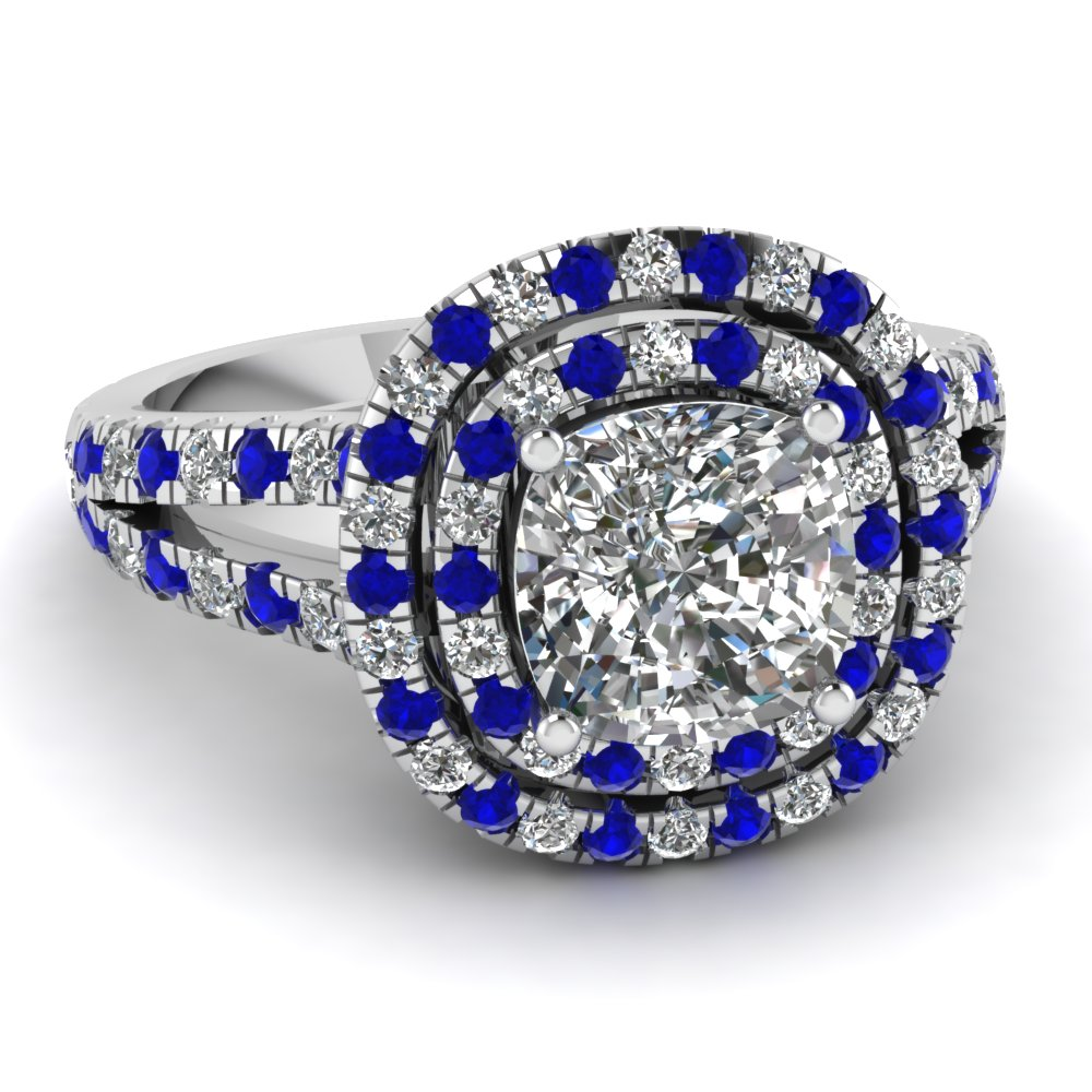 ladies zoom gold diamond white and to click wedding ring rings blue sapphire
