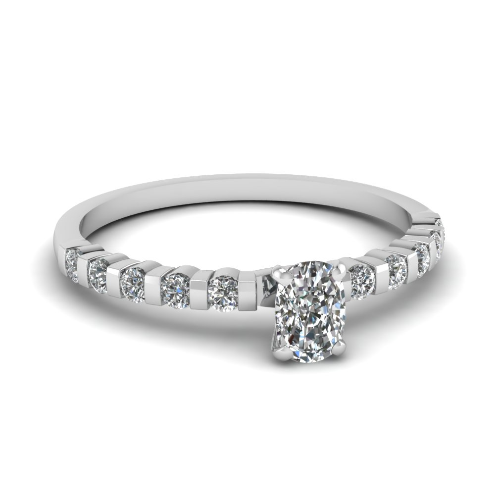 Cushion Cut Diamond Wholesale Prices Engagement Ring For Women
