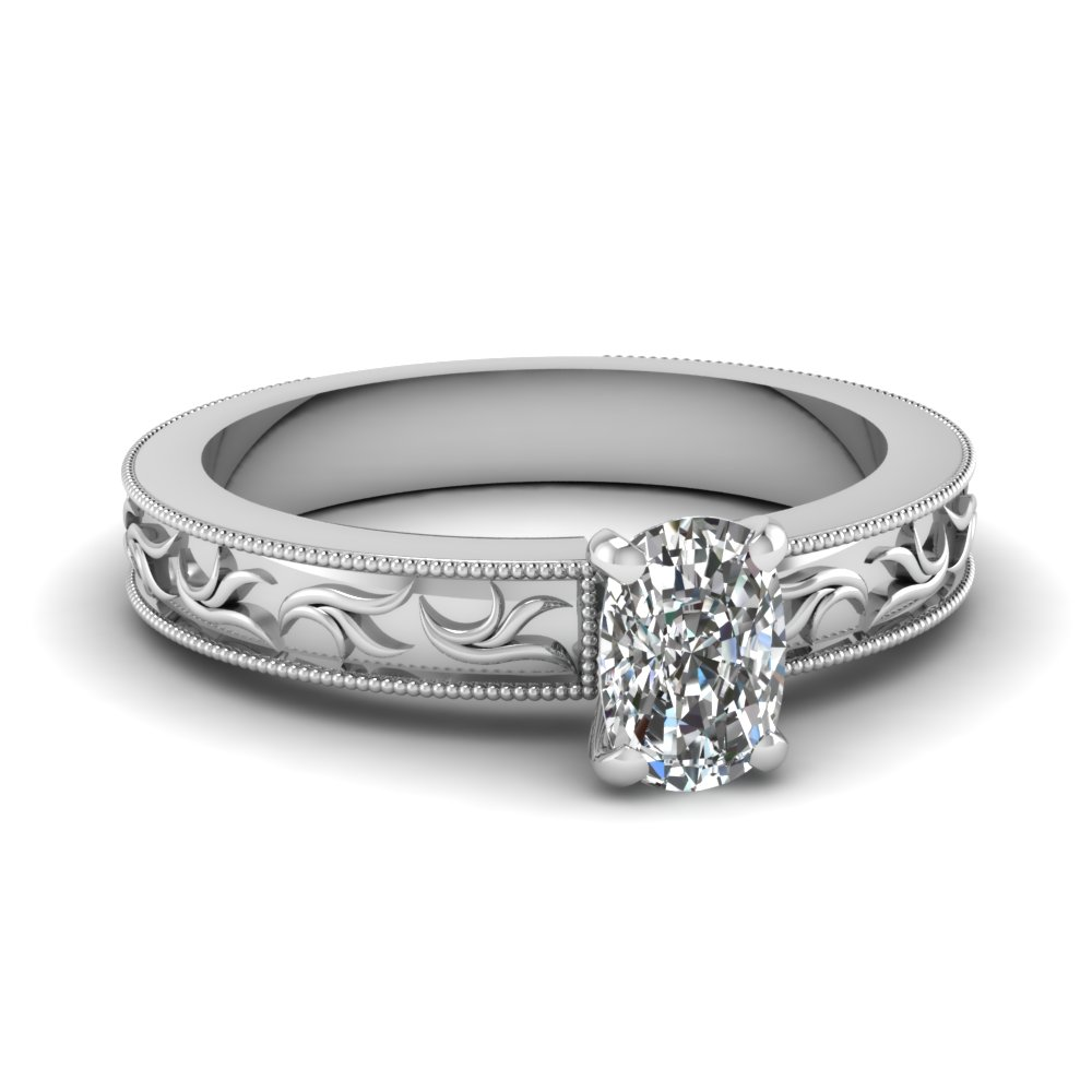 Cushion Cut Engagement Rings  Info on Diamonds Quality