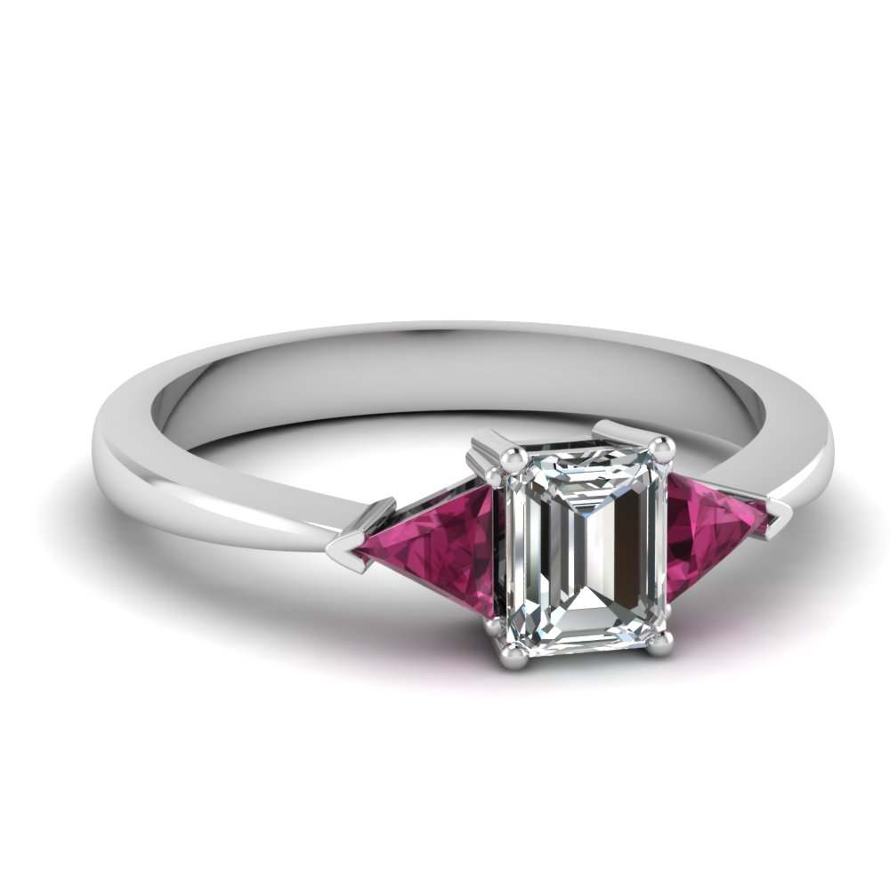 how to set an emerald cut stone