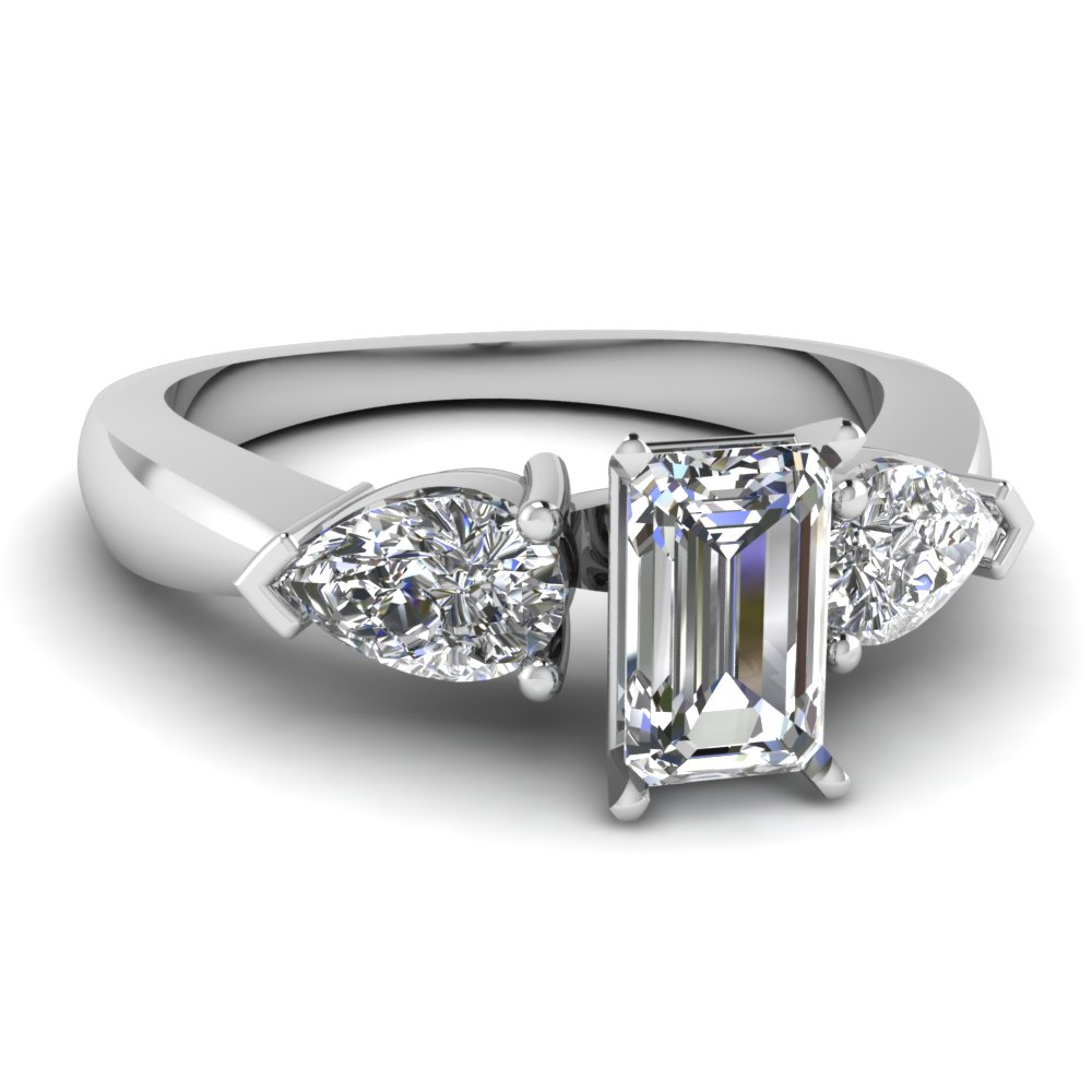 Shop For Elegant Emerald Diamond Rings Online