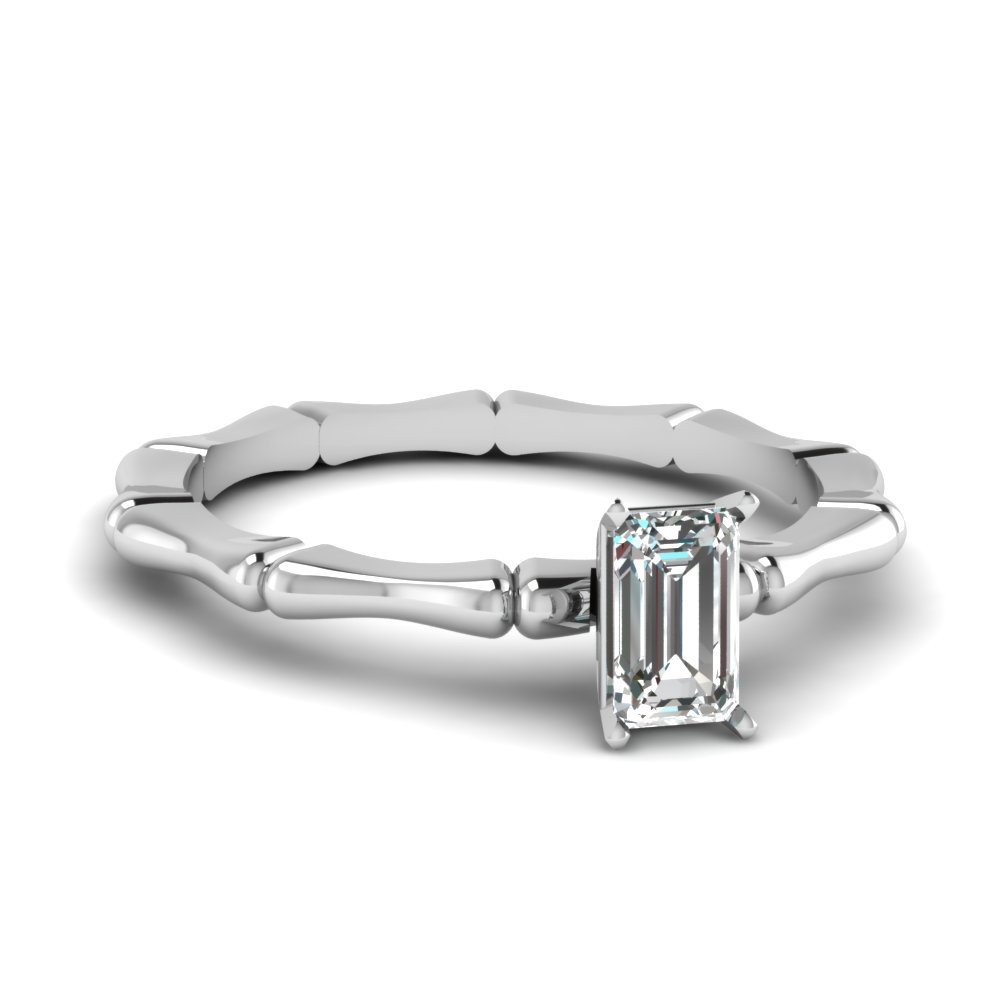 bone design emerald cut diamond solitaire engagement ring in FDENS1823EMR NL WG.jpg