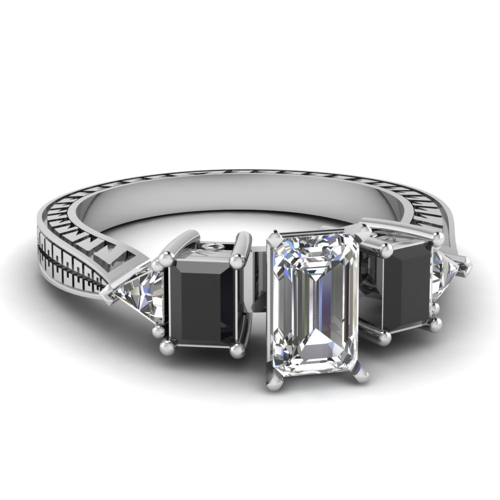 aiboulder settings cut com solitaire engagement rings trillion diamond ring