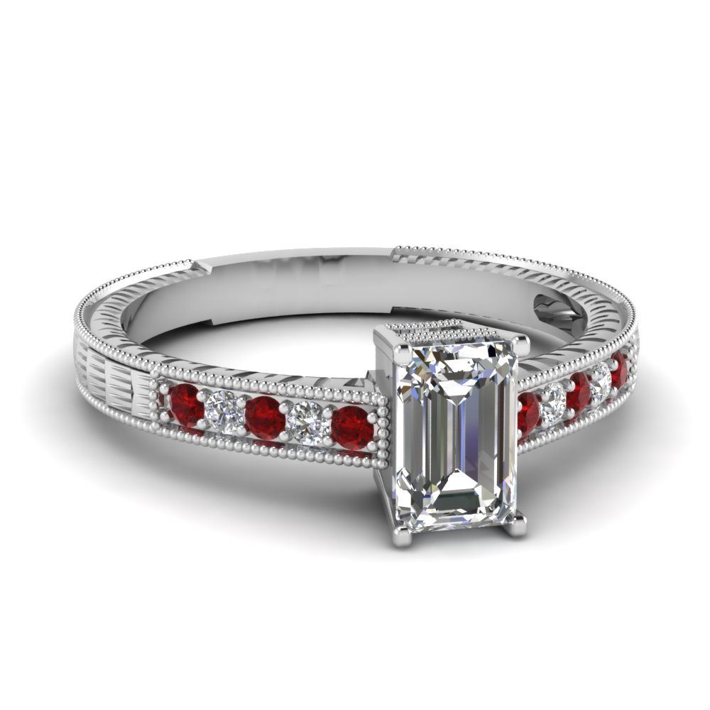 white-gold-emerald-white-diamond-engagement-wedding-ring-with-red-ruby-in-pave-set-FDENR660EMRGRUDR-NL-WG
