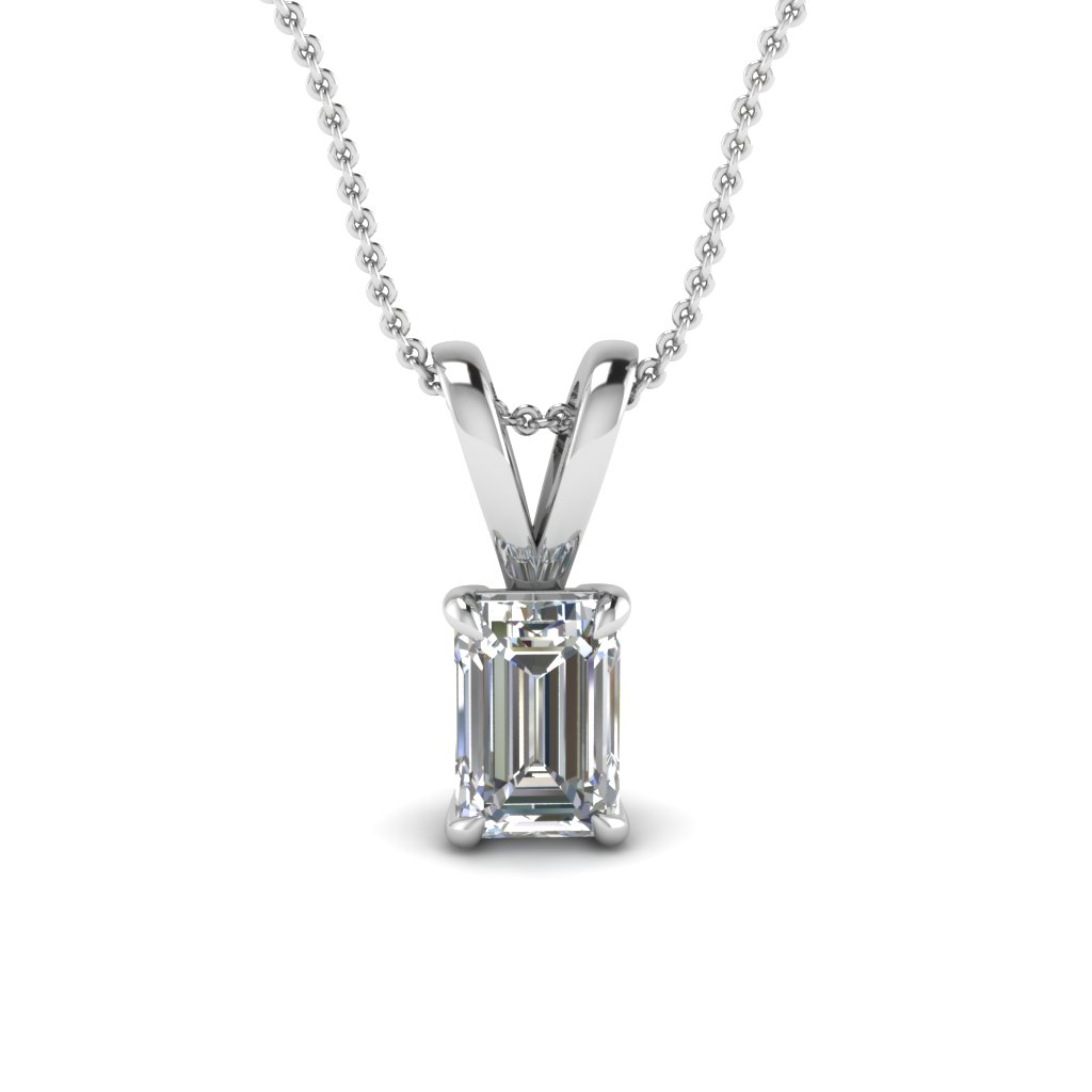 white-gold-emerald-white-diamond-solitaire-pendant-in-prong-set-FDPD4EM50CT-NL-WG