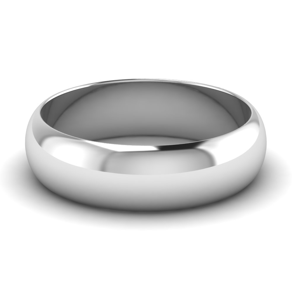 white-gold-half-round-mens-wedding-band-FDHR12B-6MM-NL-WG