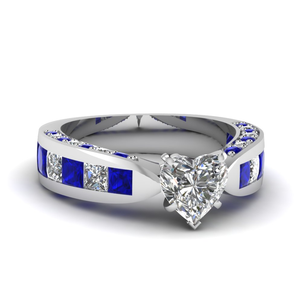 Celebrity Inspired Sapphire Ring