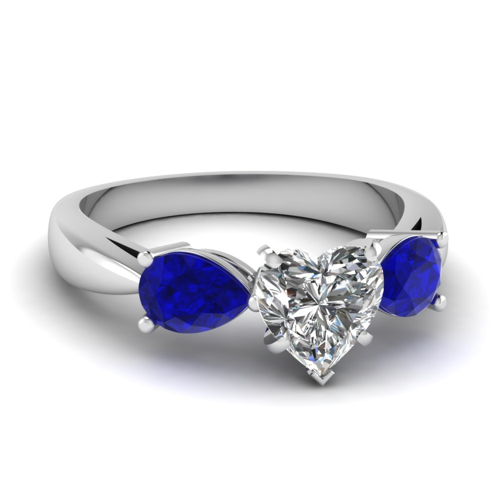 bridal amazon dp sapphire jewelry wedding com white blue engagement diamond gold set swirl and rings ring