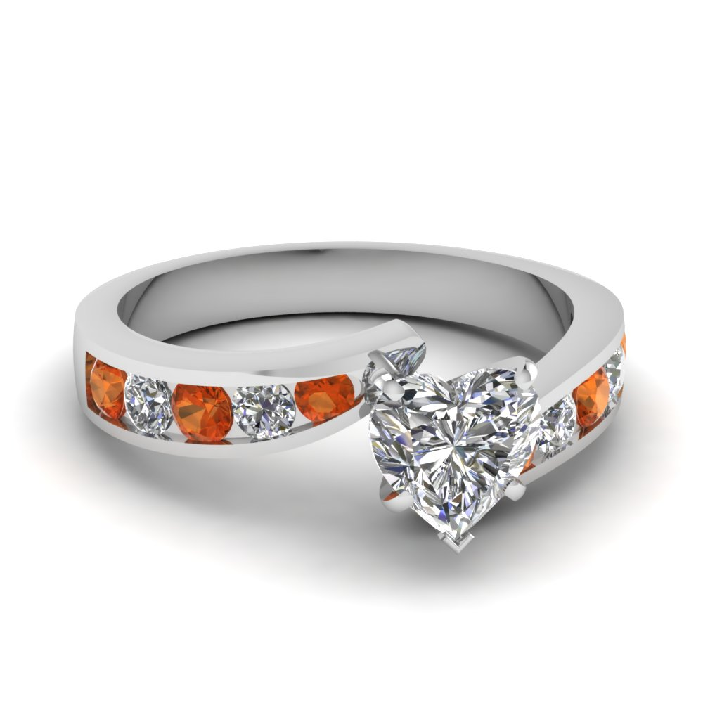 Shop For Exclusive Side Stone Engagement Rings Online ...