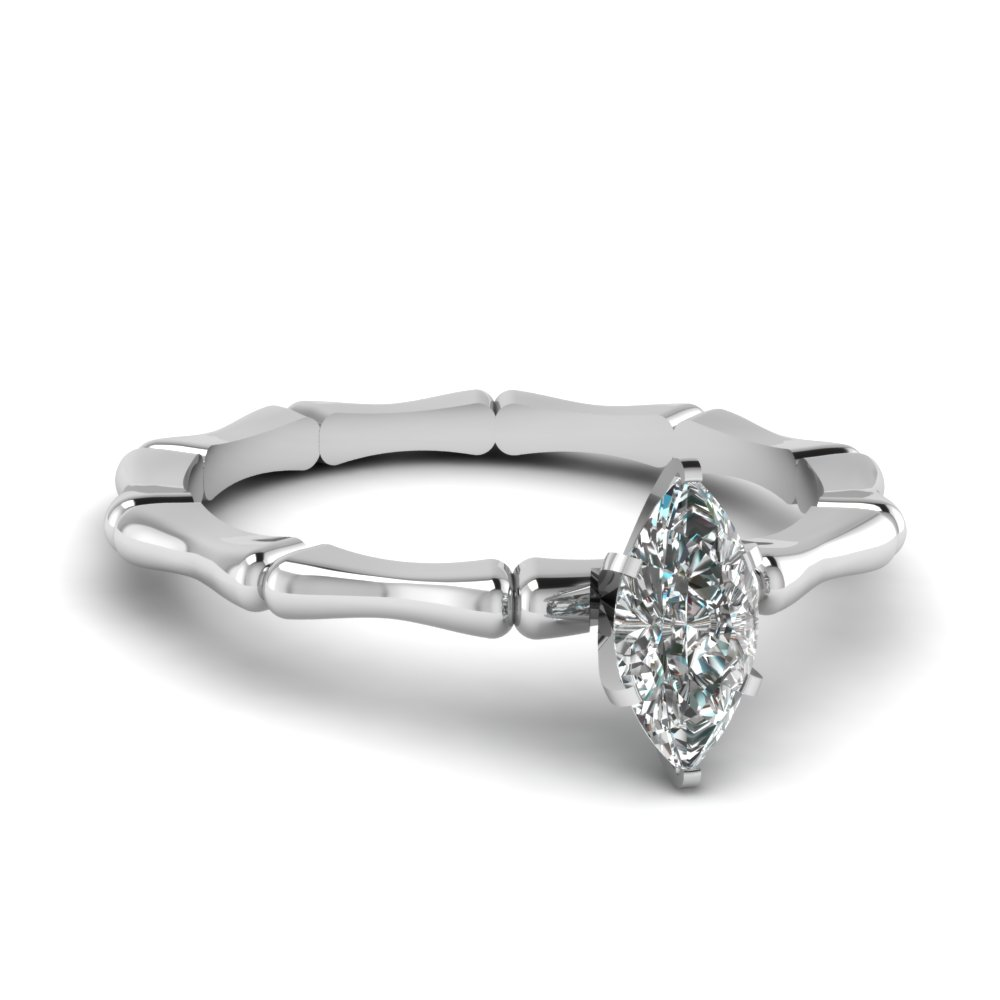 bone design marquise diamond solitaire engagement ring in FDENS1823MQR NL WG.jpg