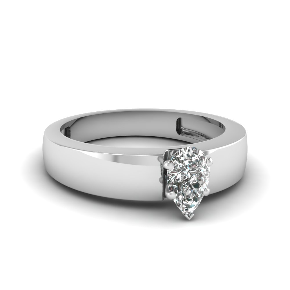 round vintage band engraving thick with rings of a brilliant wide solitaire engagement in new
