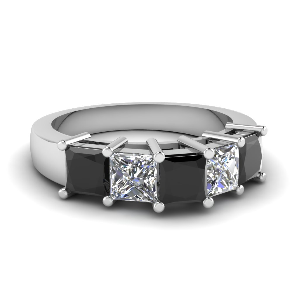 Womens Wedding Bands With Black Diamonds Fascinating Diamonds