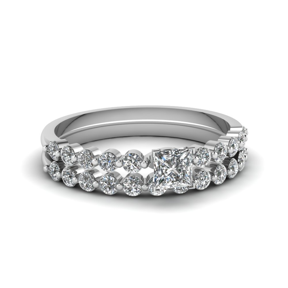 Platinum Diamond Bridal Sets For Her