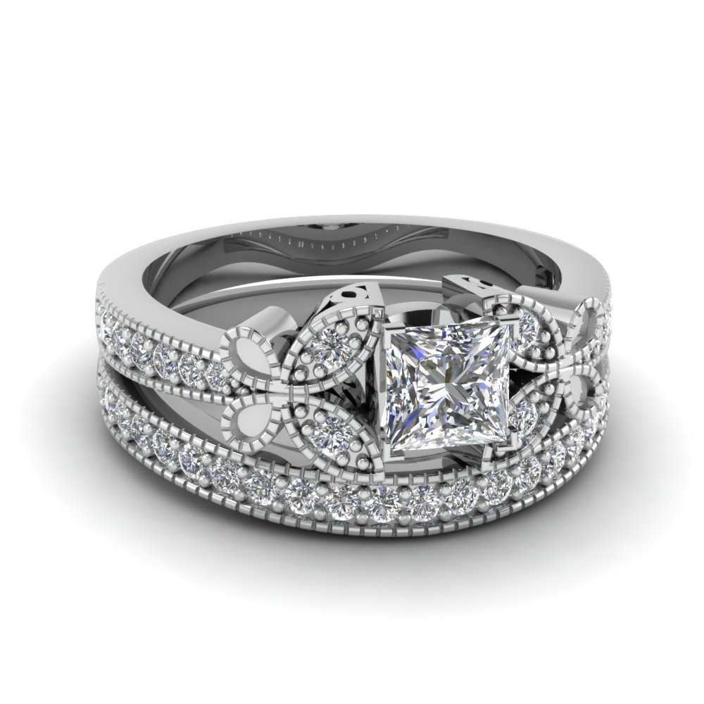 Get Discounted Princess Cut Diamond Engagement Rings