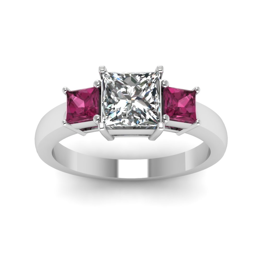 of rings ring carat gold in with diamonds sapphire tw white pink gemstone