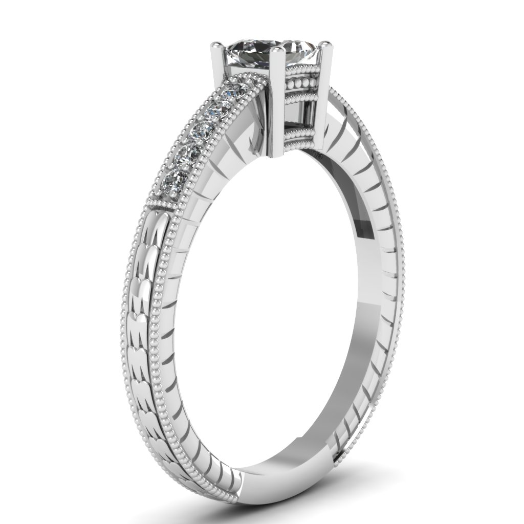 engagement modern profile set ring bezel wedding palladium by dsc rings princess low products nodeform moissanite cut