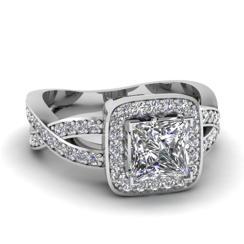 halo entwined princess cut diamond engagement ring in FDENS3237PRR NL WG.jpg