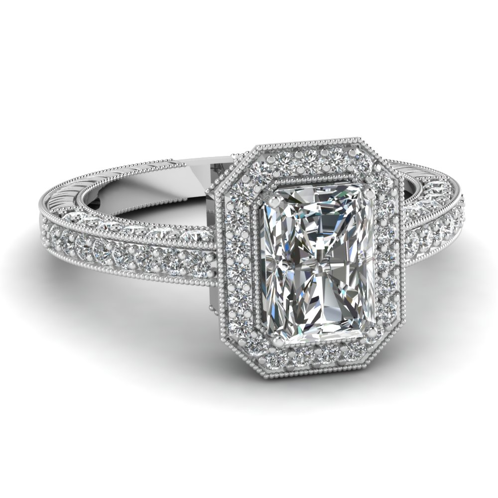 longer solitaire products diamond classic cut raised radiant rings ring