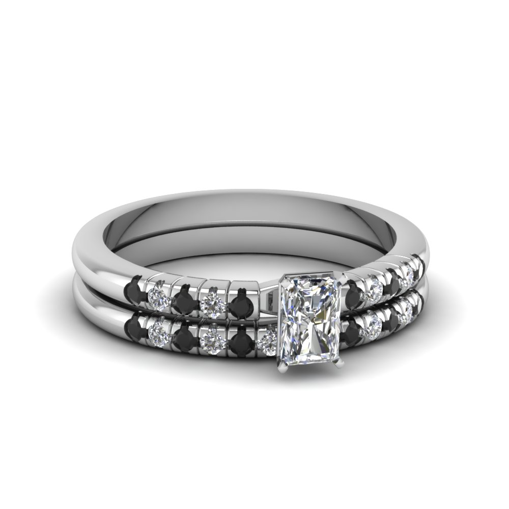 French Prong Petite Ring Set