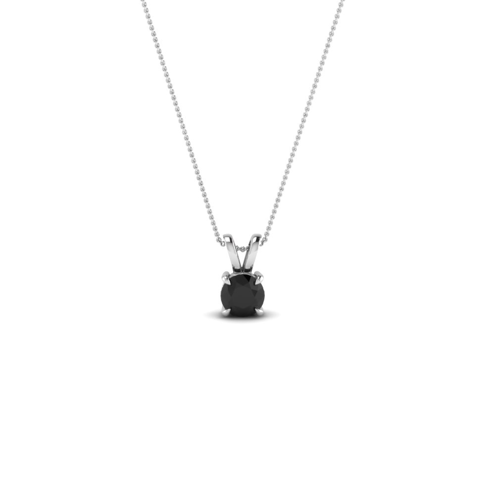 products rose pendant gold blak rbrpendant black diamond