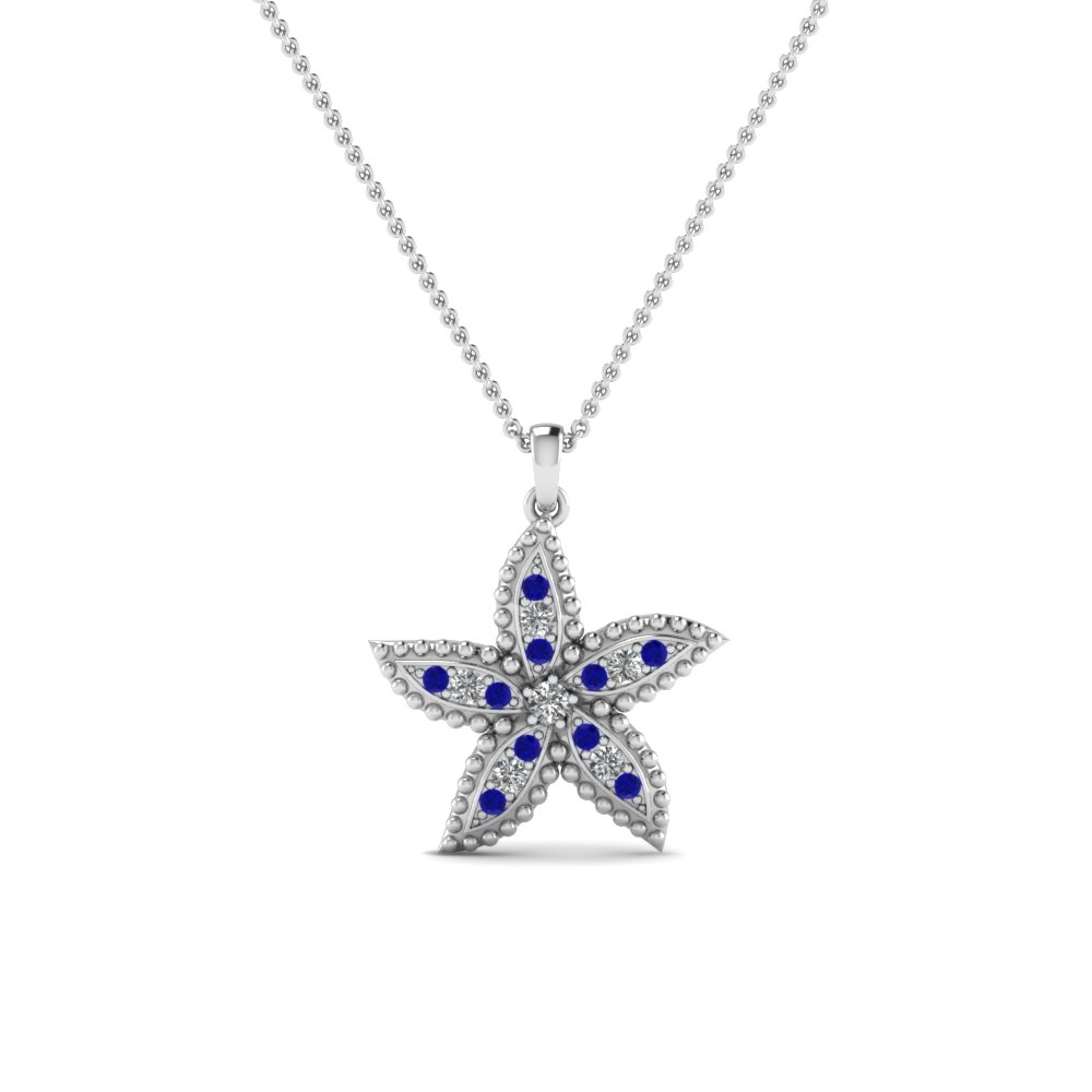 white-gold-round-blue-sapphire-fancy-pendant-with-white-diamond-in-pave-set-FDPD1496GSABL-NL-WG