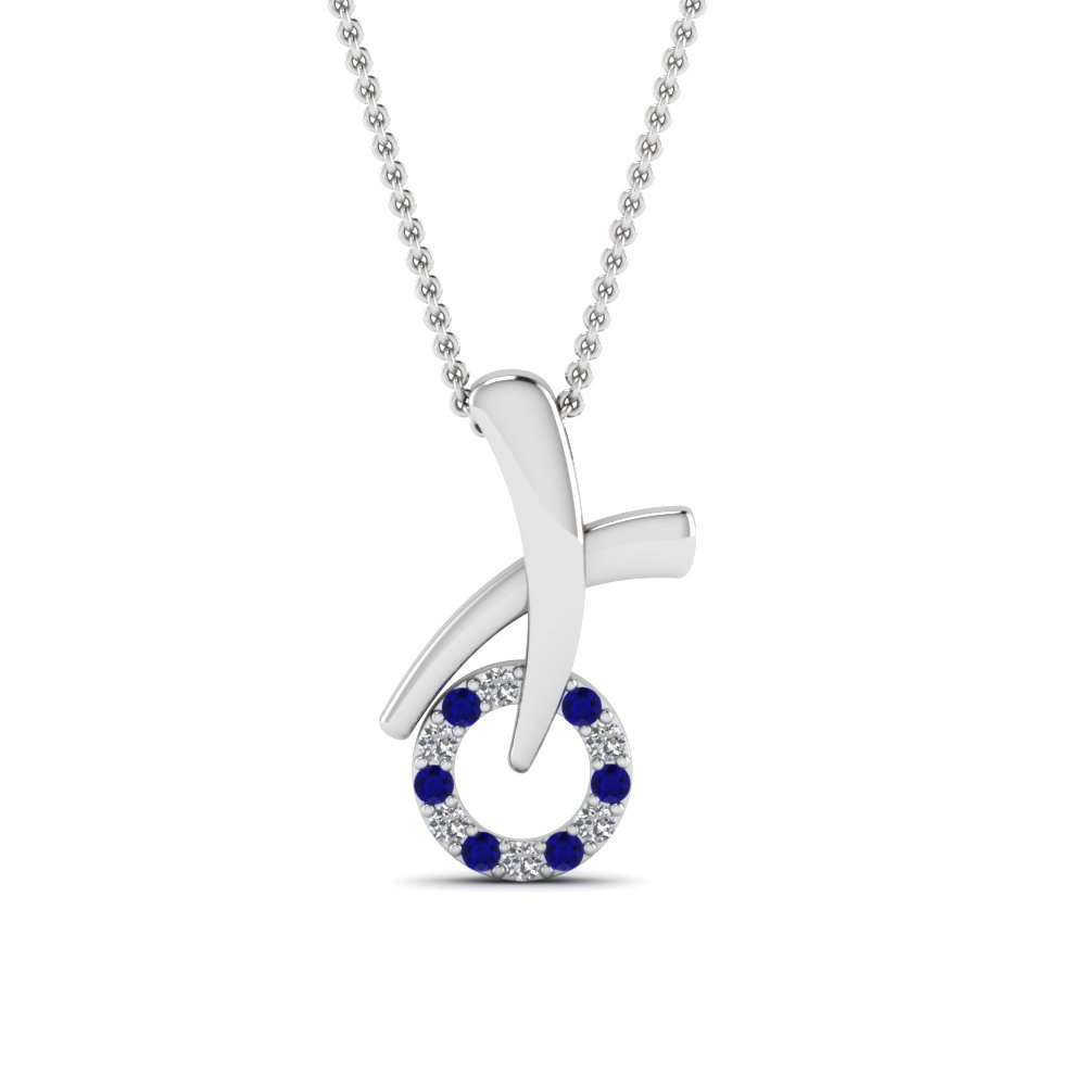 Unusual XO Pendant Necklace For Women